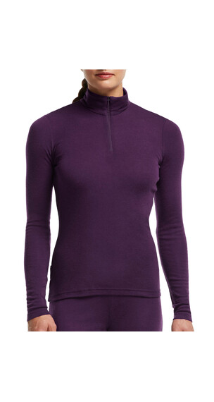 Icebreaker Everyday LS Half Zip Women vino